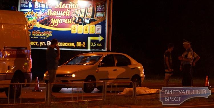 Заодин вечер вБресте сбито два пешехода, один умер