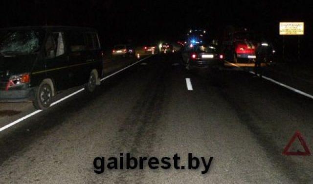 Двойной смертельный наезд на велосипедиста: ночью стоял на полосе движения