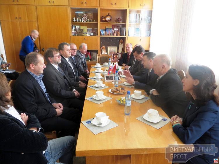 Делегация из Словацкой Республики побывала в администрации Московского района г. Бреста