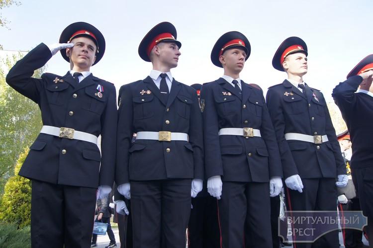 В школе № 35 города Бреста состоялось посвящение в кадеты