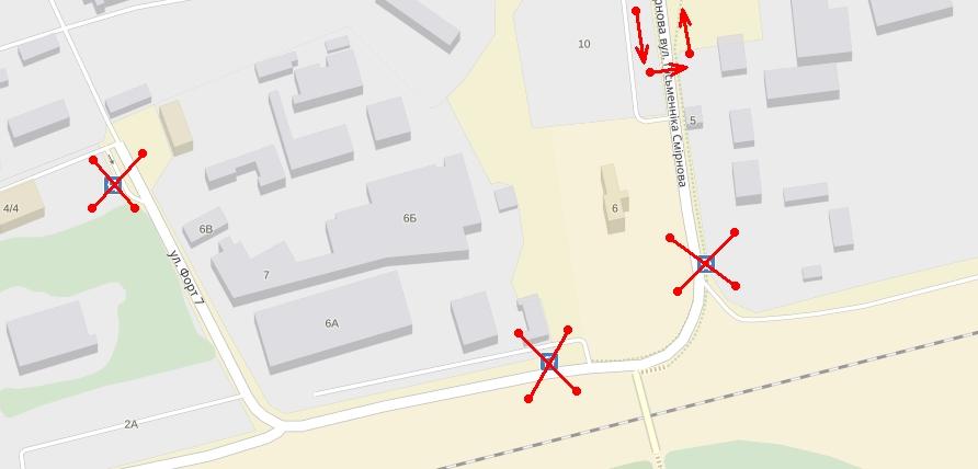 Временно не будет остановок «Рыбторг» и «Мясокомбинат» для маршрутов № 9 и № 37А