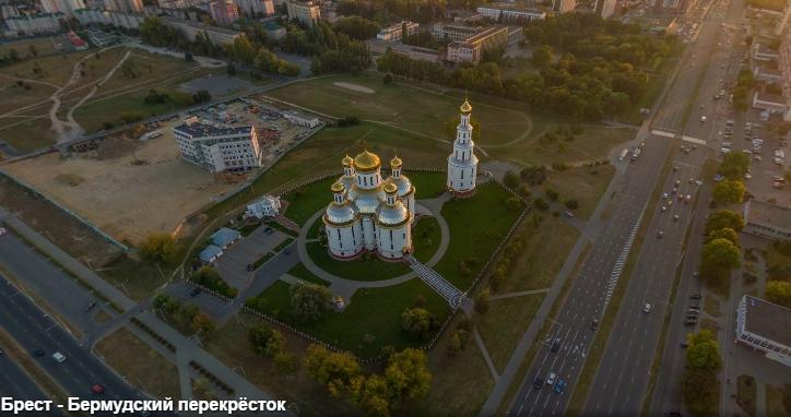 """Брест, """"бермудский"""" перекрёсток... Выше 20-этажек на Московской"""