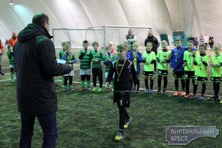 Детская футбольная команда из Бреста завоевала второе место на турнире в Польше