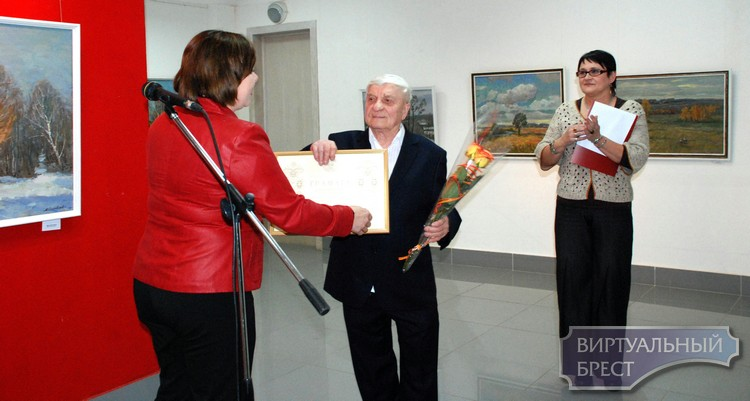 Выставка «Лирические мелодии осени» открылась в Бресте