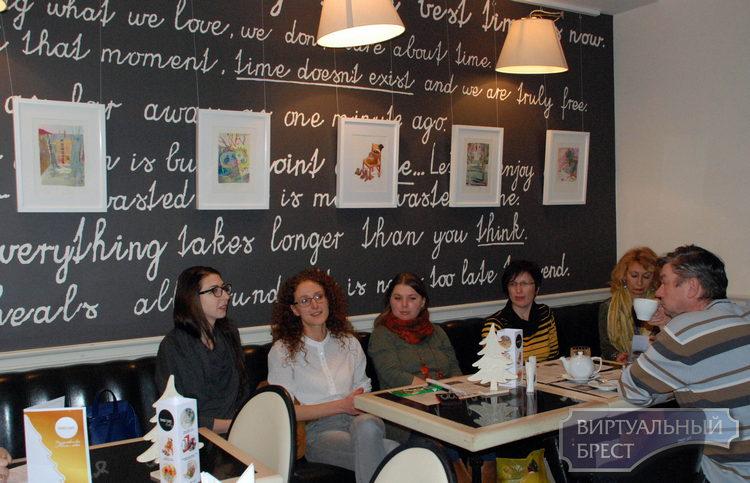 В «Таймс-кафе» открылась выставка акварелей Марии Редько