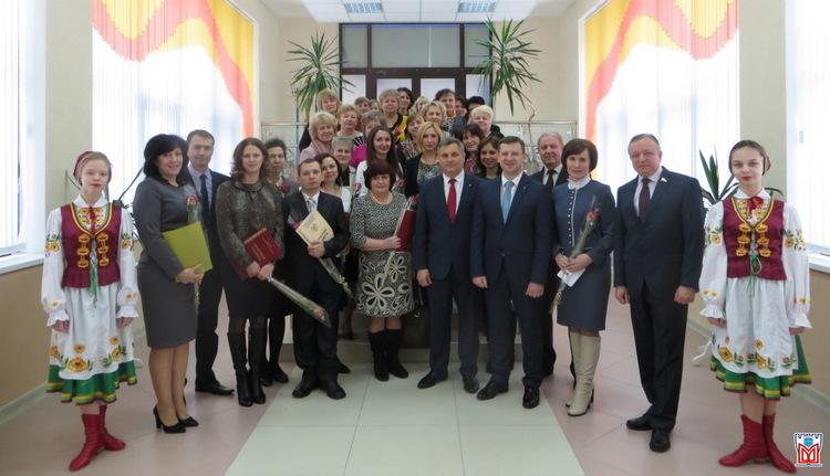 В Московском районе г.Бреста чествовали работников социальной защиты