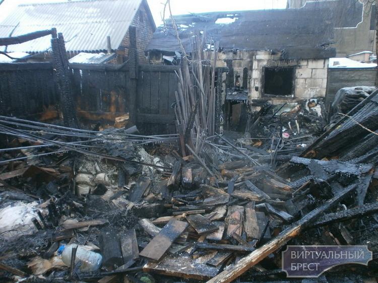 Рост количества пожаров зарегистрирован в Бресте