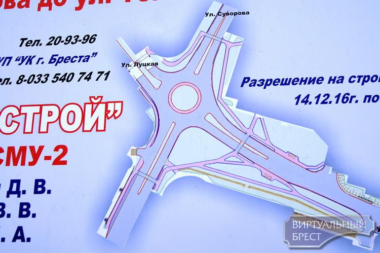 """На перекрёстке Журавецкой и Суворова начали делать """"кольцо"""""""