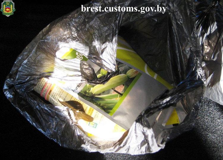 Элитные семена овощных культур изъяты на границе