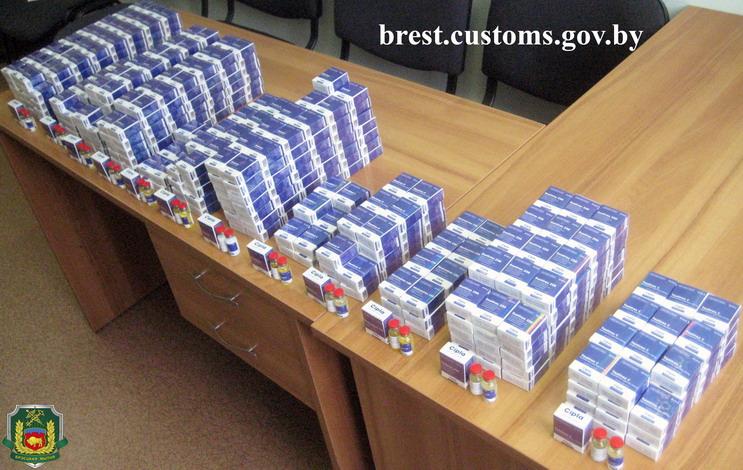 Брестские пограничники пресекли преступный ввоз вБеларусь крупной партии анаболических стероидов