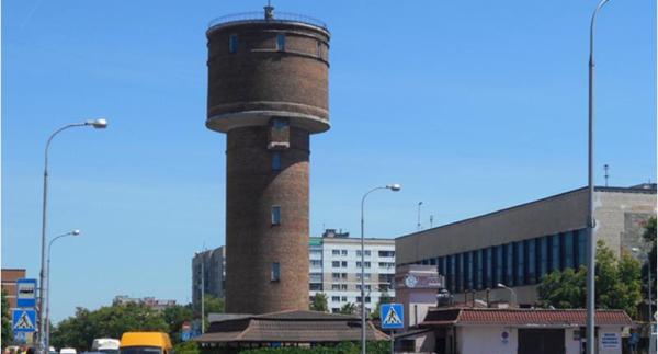 В Бресте продают старую водонапорную башню у автовокзала