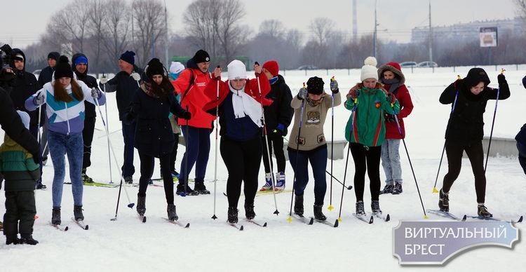 На «Брестскую лыжню - 2017» вышли почти 1000 участников