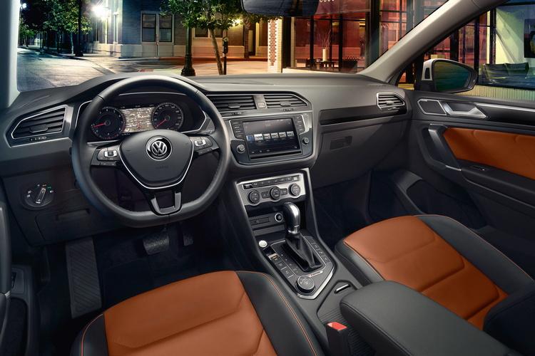 Новый Volkswagen Tiguan: Производит впечатление