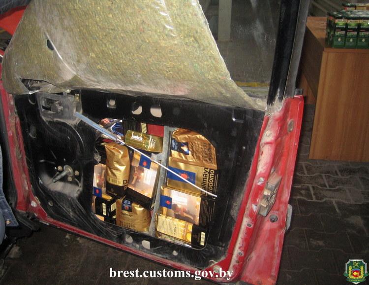 В ПТО «Мокраны» обнаружили коммерческую партию натурального кофе в автомобиле