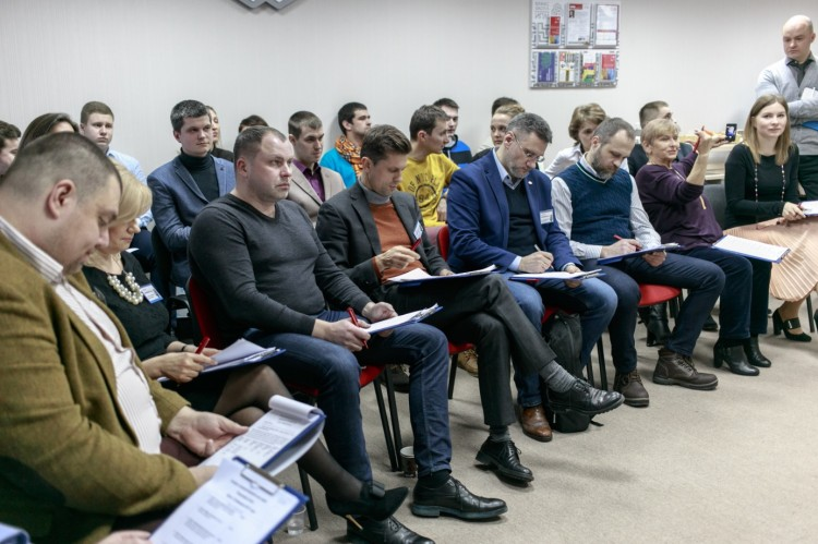 Конкурс предпринимательских идей в Бресте: Presentation Pitch и пирамида Маслоу