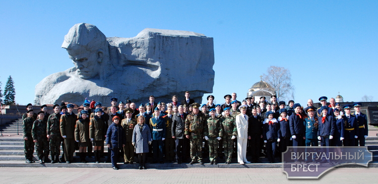 Международная Вахта памяти, посвященная 45-летию Поста Памяти в Брестской крепости