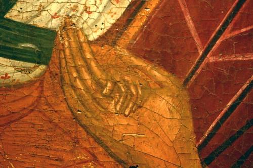Электронный микроскоп помог брестским музейщикам установить дату написания старинной иконы