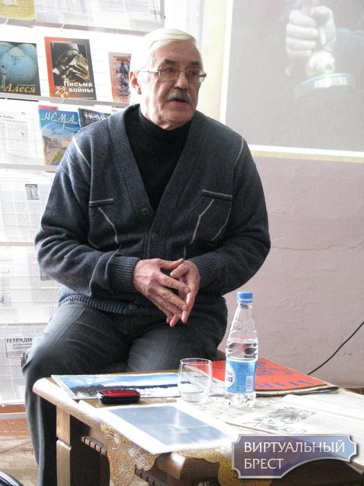 Литературный автограф с писателем Александром Волковичем
