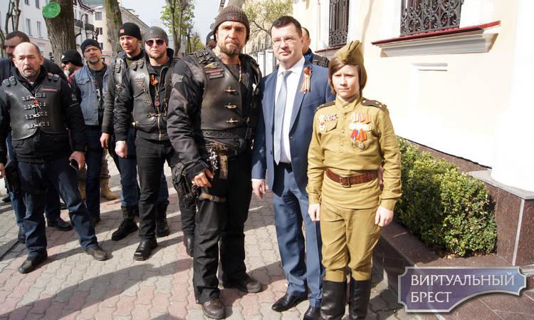 Русских членов «Ночных волков» непустили вПольшу