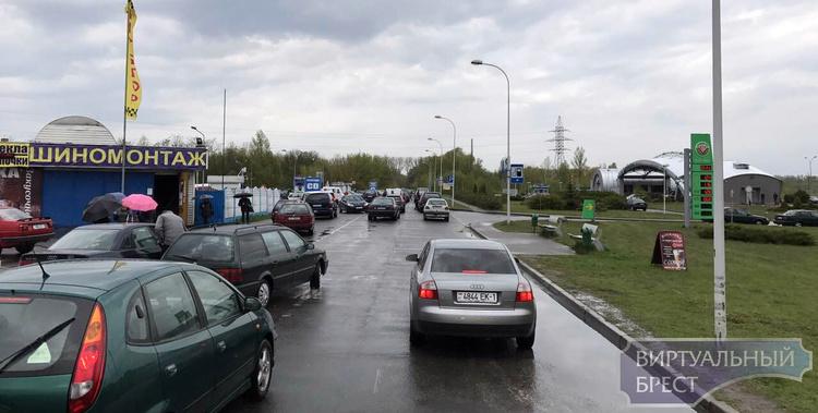 """Внимание: новая схема заезда на территорию КУП """"Приграничный сервис"""" на МАПП """"Брест"""""""