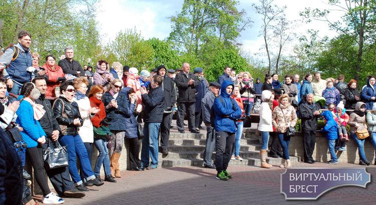 Как праздновали День Победы в Брестском парке культуры и отдыха