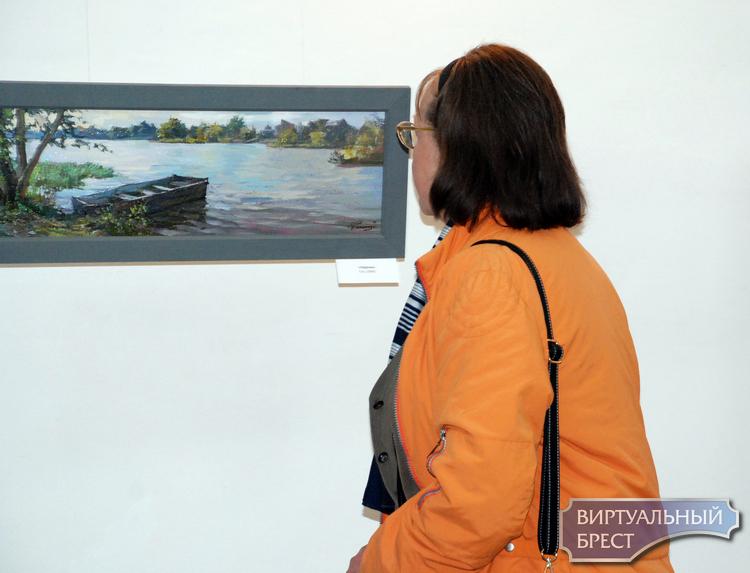 Выставка живописи Игоря Романчука «Легкое дыхание природы»