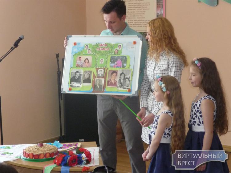 Визитка семьи на конкурс многодетная семья