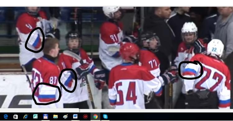 Хоккеистам будут шить форму с акцентом на государственную символику