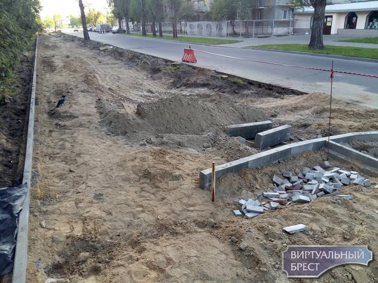 """Набережную делают """"центром притяжения"""": парковка, дорожки, удаление аварийных деревьев"""