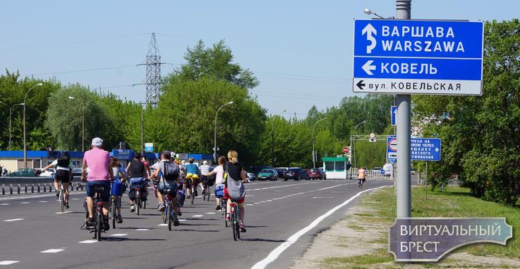 Велосипедный фестиваль «VEZDEVELOM» проходит в Бресте и Тересполе одновременно