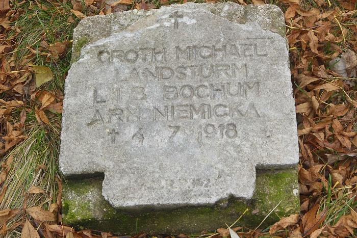 О чем говорит каменное надгробие с крестом солдата кайзеровской армии у Брестской крепости?