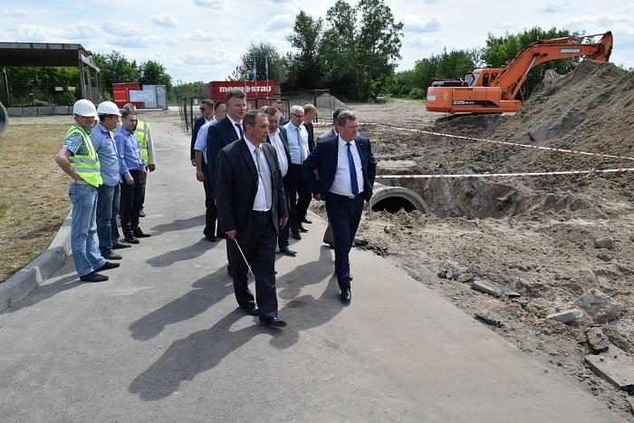 В Бресте начали строить новые очистные сооружения