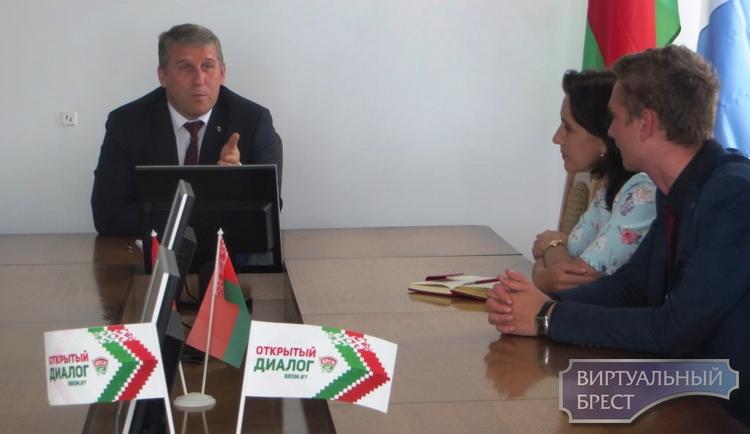 Лукашенко назначил Андрея Филановича главой администрации Московского района Бреста