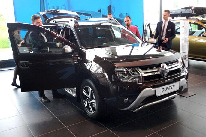 Renault Duster 4x4 под 4,4% в кредит в белорусских рублях