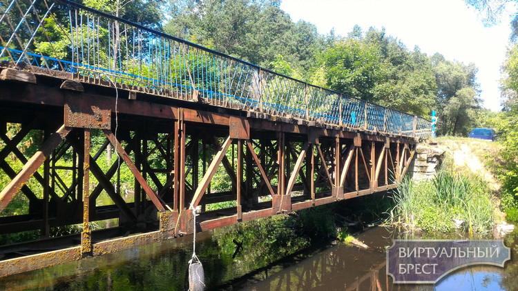 Два незабытых берега... Проблему аварийного моста Ставы-Огородники будут решать