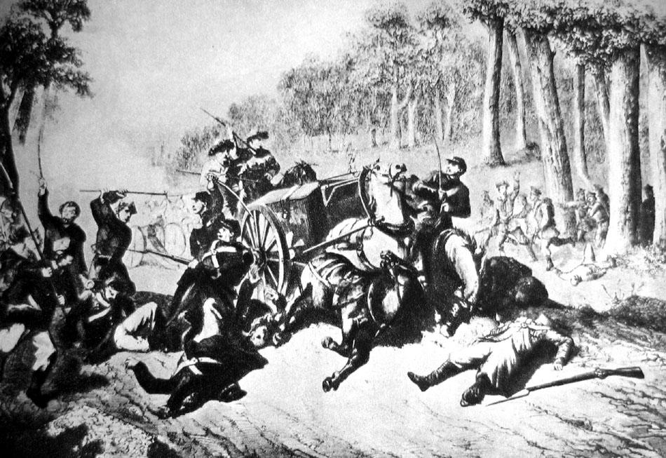 1863 год в Кобринском уезде. Отряд Ромуальда Траугутта