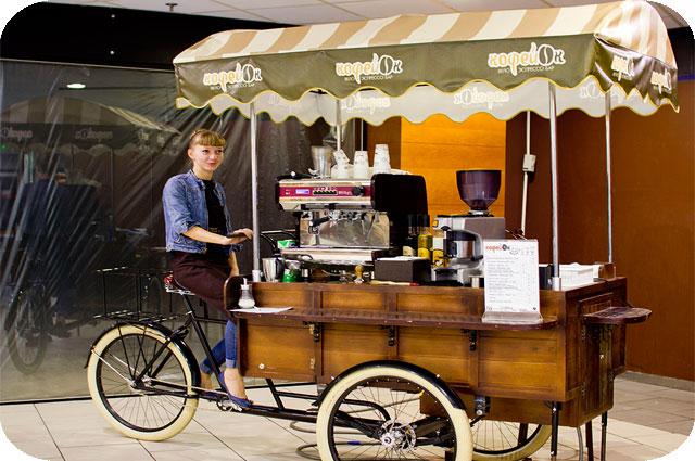 Велокофейни могут появиться на улицах Бреста