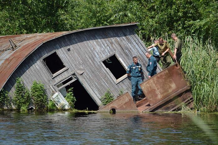 В Бресте из затонувшего судна сделают кафе?