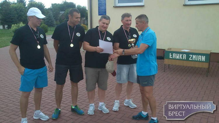 Брестчане выиграли международный турнир по айсштоку а польском Тересполе