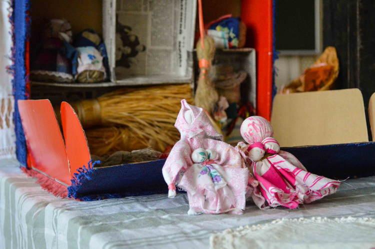 Куклы-обереги древних славян в музее «Брест театральный»