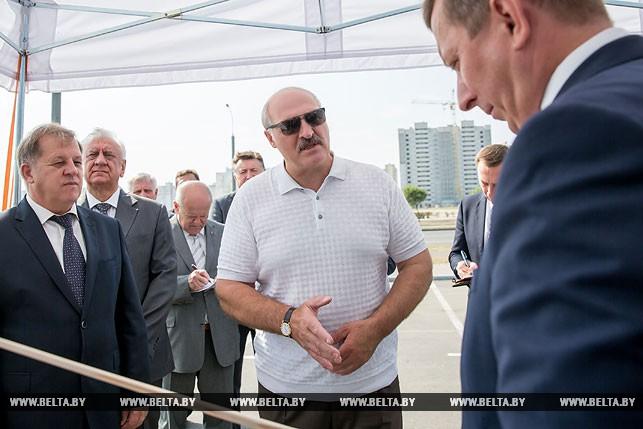 Президенту доложили о строительстве объектов к 1000-летию Бреста