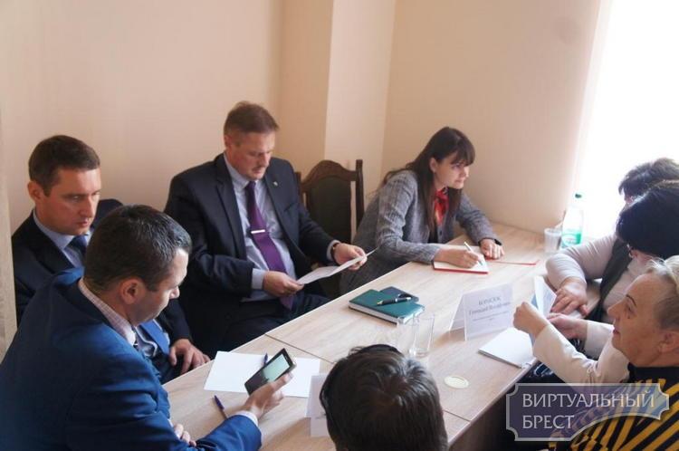 В Ленинском районе г. Бреста прошел  выездной приём граждан, проживающих на Граевке