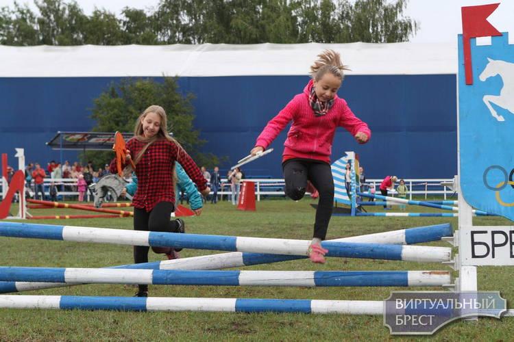 Фестиваль «Конная Фиеста» впервые состоялся в Бресте