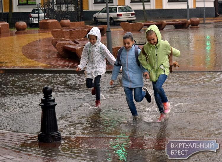 В Бресте весь день идёт дождь. Кто-нибудь, включите лето!