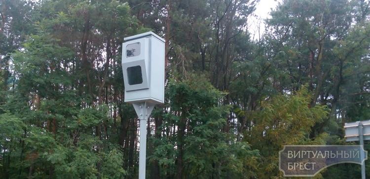 Новая камера появилась на трассе М1 под Брестом