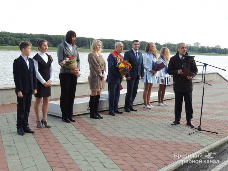 Брест чествовал первого олимпийского чемпиона Беларуси Сергея Макаренко