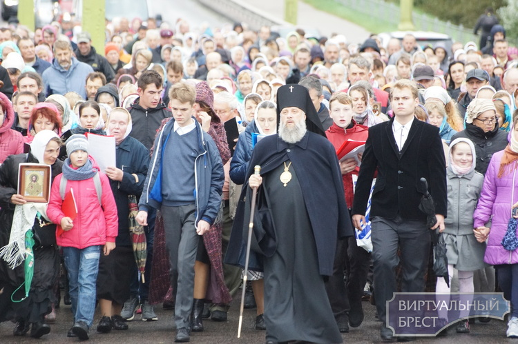 Из-за крестного хода по ул. Ковельской и Свято-Афанасьевской будет ограничено движение