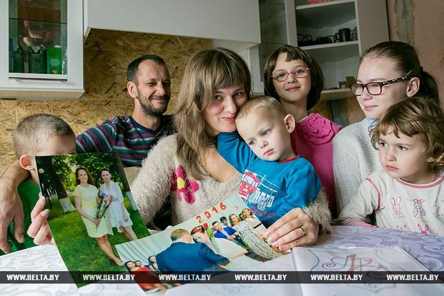 Многодетная семьЯ - в пять раз больше материнского счастья