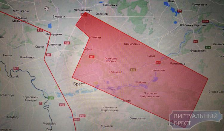 Расширили список запретных для квадрокоптеров зон: в Бресте это Восток, Вычулки, Тельмы и Черни