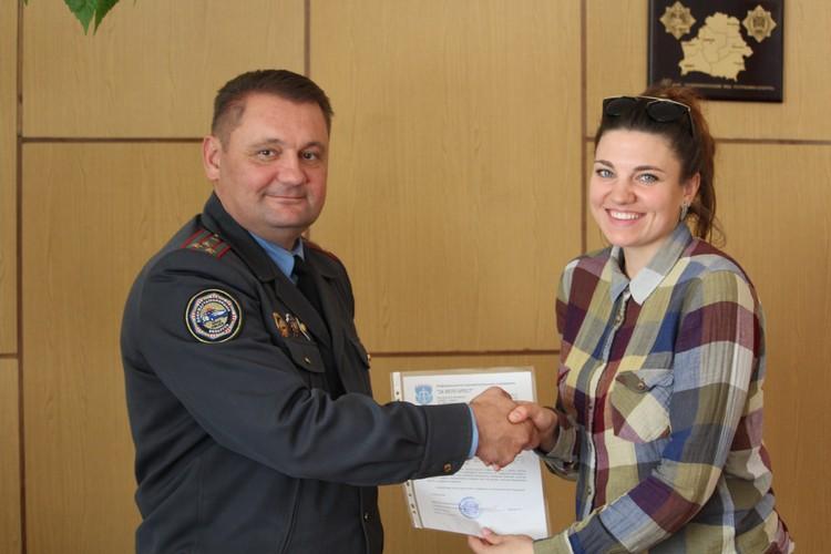 Начальник ГАИ Брестской области ответил на вопросы велосипедистов и дал им напутствие